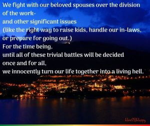 fight with our spouses