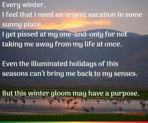 Winter gloom