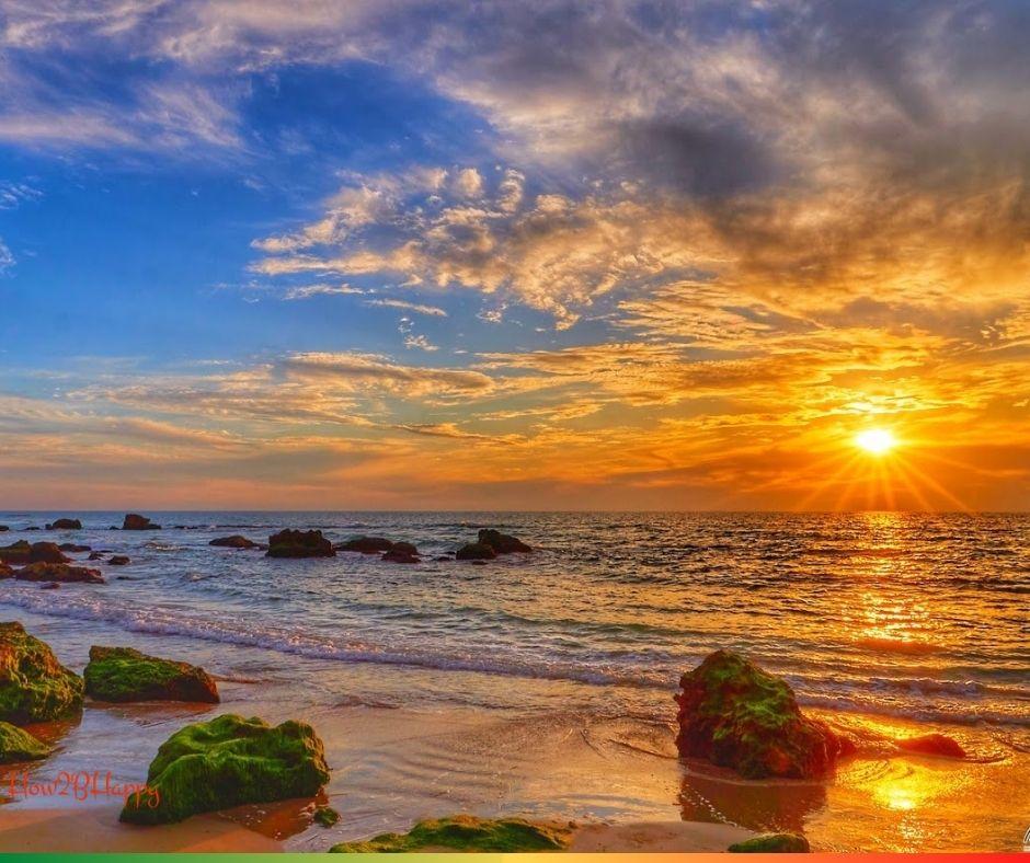 golden world in sunset symbolizing the effect of money on the world